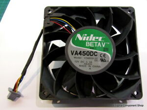 Nidec Beta V  VA450DC V34809-35. 120mm / 12V / 3.3A. UK Seller - Fast Dispatch.
