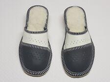 Damen Hausschuhe-Pantoffeln-Latschen Echt Leder Gr.40