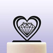 Diamanti Acrilico Pietre Preziose Compleanno Cake Topper Decorazioni & BOMBONIERA ref 3