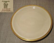 Frühstücksteller Teller Hutschenreuther Porzellan Juwel Goldrand Creme