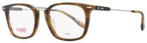 Hugo by Hugo Boss Rectangular Eyeglasses HG 0327 HGC Matte Havana 50mm