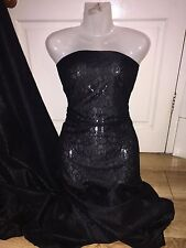 "1 MTR QUALITY CHEAP BLACK LACE NET SLIGHT STRETCH FABRIC...60"" WIDE £2.49"