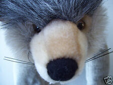 """1955 Midway Drive Plush Animal Bean Bag 18"""" Long Chip Monk Look Soft Toy"""