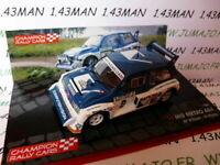 RF2M voiture 1/43 IXO Rallye Champions Finlande : MG METRO 6R4 1986 1000 LACS