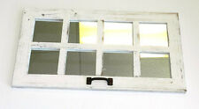 Barn Wood Window 8 Pane Mirror Rustic Country Shabby Decor 14x25 - MANY COLORS!!
