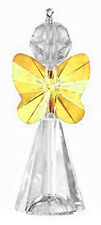STERLING SILVER 925 & SWAROVSKI CRYSTAL CHARM / PENDANT KIT, SUNFLOWER  ANGEL