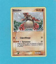 Pokemon (Italian) EX Hidden Legends Set - Groudon Holo  # 102/101