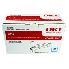 Genuine Original OKI Cyan Image Drum for C710 A4 Colour Printers - 43913807