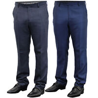 Mens Trouser Cavani Pants Formal Wedding Office Work Smart Fashion Casual New