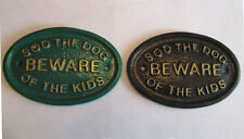 Dog Garden Decorative Plaques & Signs