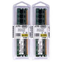 2GB 2 x 1GB DDR2 Desktop Modules 5300 Non Ecc 667 240 pin 240-pin Memory Ram Lot