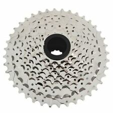 Fast Shipping SunRace CSM990 Wide Ratio Cassette 11-40T , 9 Speed , Silver