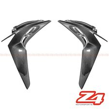 2014-2016 Z1000 Front Side Radiator Shroud Cover Panel Fairing Cowl Carbon Fiber
