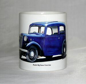 Classic Car Mug. Austin Big Seven Fore Lite