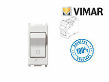 INTERRUTTORE MAGNETOTERMICO VIMAR PLANA 14405.16  1P+N C16 120-230V BIANCO