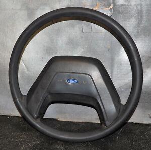 1987-1991 Ford E150 E250 E350 Van Steering Wheel w/Horn Cover OEM Rubber