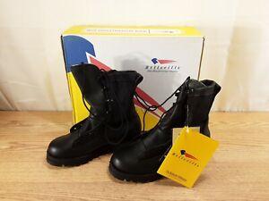 Belleville Combat Infantry Boots Gore-Tex Black Vibram Soles Size 3.5 W NEW