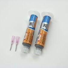 2pcs 10CC Mechanic Tin XG-z40 Solder Paste Flux Sn63/Pb37 25-45um Syringe For…