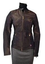 AUTHENTIC BELSTAFF MAGPIE BLOUSON LADY SHADOW/BRONZE SIZE 42 NWT RACING JACKET