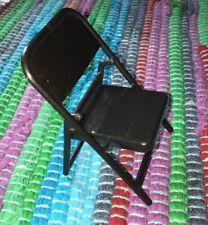 WWE Black Chair Accessory For Wrestling Figures mattel jakks wwf 3 1/2 Inch Tall