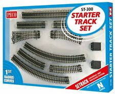 Peco ST-1 12 X 87mm Standard Gerade Setrack n Spur Code 80 Neu
