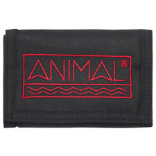 ANIMAL MENS WALLET.NEW SIDETRACK BLACK COIN CREDIT CARD MONEY CASH PURSE 8S 13 2