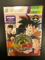 Dragonball Z for Kinect Xbox 360 Complete CIB Tested Microsoft