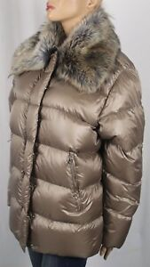 Ralph Lauren Bronze Fur Down Filled Puffer Coat Jacket NWT $250