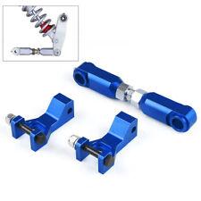 Front & Rear Lowering Kit Adjustable Blue for Yamaha Raptor 700 350 660 700R ATV
