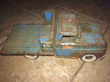 Vintage Tonka Toys Mound Minnesota Pressed Steel Tonka Farms Stake Truck