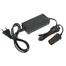 Transformateur Convertisseur De Tension 220/12v 6amp Sortie Prise Allume Cigare