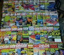 Magazine Lot 40 Hot Rod & Custom Rodding Car Craft Street Rodder,Chevy,Truck