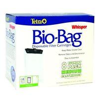 TETRA WHISPER  Bio-Bag Medium Cartridge Refills ( 8 pack )
