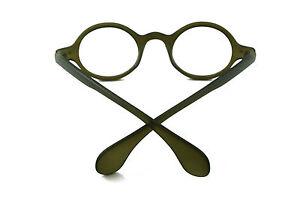 KingFreedom 42.70mm Vintage Round Man Women Eyeglass Frame Glass Brand New Optic