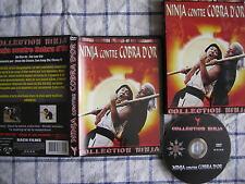 Ninja contre cobra d'or, 1979, DVD Bach Films (Collection Ninja), RARE!!!!