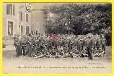 cpa 41 CHAMPIGNY en BEAUCE La MUSIQUE du 113e Régiment de Ligne en 1905 SOLDATS