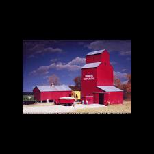 FARMER'S CO-OP RURAL ELEVATOR - N SCALE CORNERSTONE KIT 933-3238