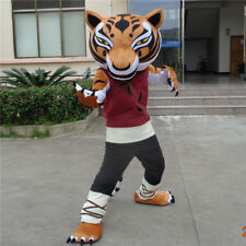 Hot Tigress Mascot Costume Kung Fu Panda Unisex Cosplay Suit Dress Party Outfit