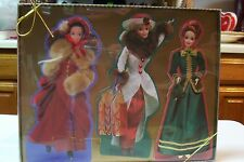 Hallmark Barbie Christmas Holiday Greeting Cards in the Box 2 Sets Never Used
