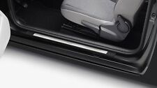 GENUINE VW UP! 4DR STAINLESS STEEL FRONT + REAR DOOR SILL KICK PLATES TRIM SET