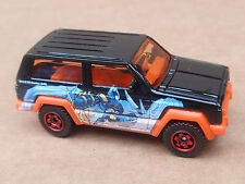 Matchbox JEEP CHEROKEE from 3 Pack LOOSE Black BATMAN