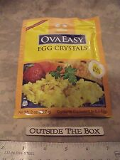 OvaEasy Egg Crystals 2 Oz Pouch,  5.3 Eggs, All-Natural, Dried Whole Egg  *USA*