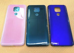 E Battery Back Cover Housing Case Door For Motorola Moto G9 Play