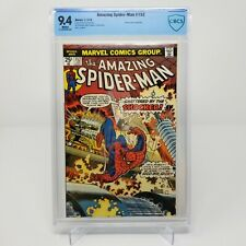 The Amazing Spider-Man No.152 Jan.1976 CBCS 9.4 WHITE pages NOT CGC