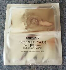 NEW Tonymoly Intense Care 24K Gold Snail Hydro Gel Mask