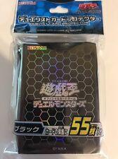 Yu-Gi-Oh! OCG Duelist Card Sleeve Protector BLACK 55pcs Konami new