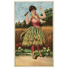 Bufford's Vegetable Cards No. 790-3 Deco FRIDGE MAGNET 1887 Wheat A S'wheat Girl