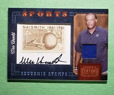 2010 Panini Century, Wes Unseld, Stamps Jersey Auto Autograph, SSP #d 04/10