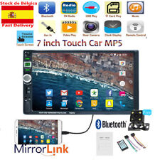 7'' 2 DIN Autoradio MP3 MP5 Player USB Bluetooth Estéreo Pantalla táctil Camera
