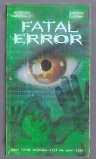 BRAND NEW  FACTORY SEALED VHS FATAL ERROR